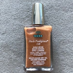 NUXE Multi Use Gold Shimmer Dry Oil